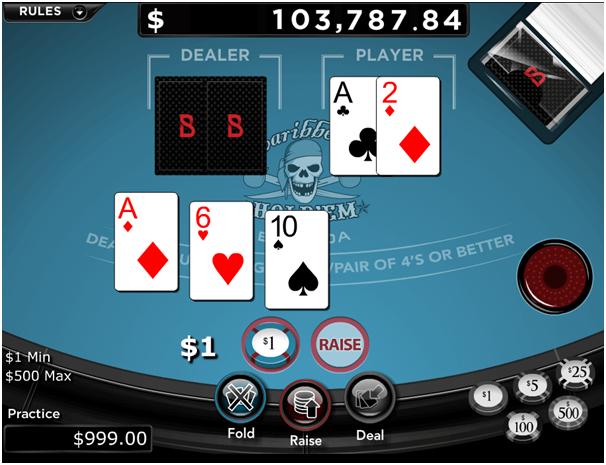 Caribbean Draw Poker Progressive Jackpot
