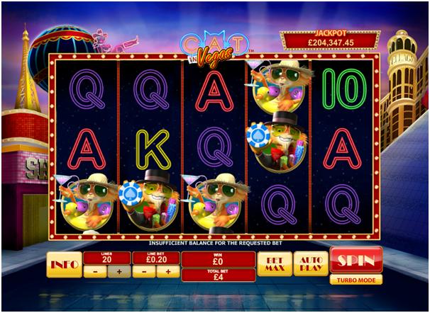 Cat in Vegas Game