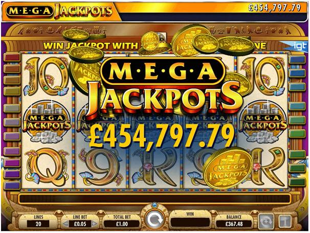 Cleopatra Mega Jackpot Win