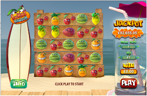 Funky Fruits Game
