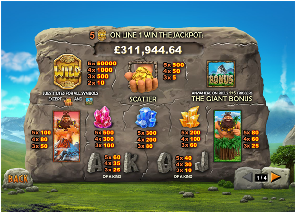 Jackpot Giant Features