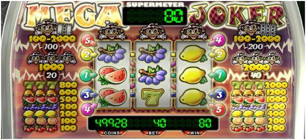 Mega Joker Progressive Jackpot