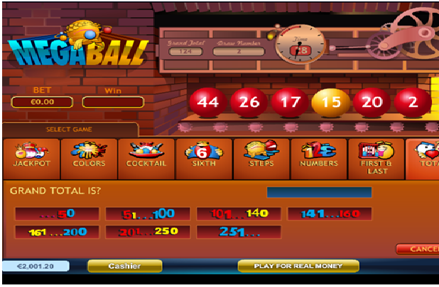 Megaball Progressive Jackpot Win