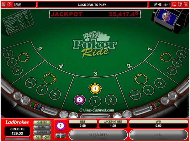 Poker Ride Game