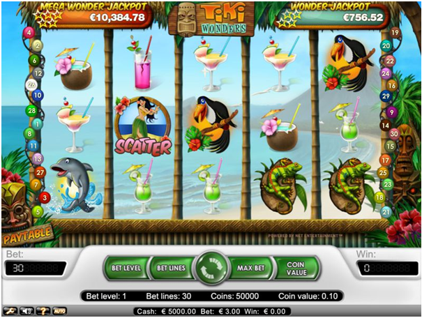 Tiki Wonders Game
