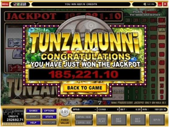 Tunzamunni How to win Jackpot