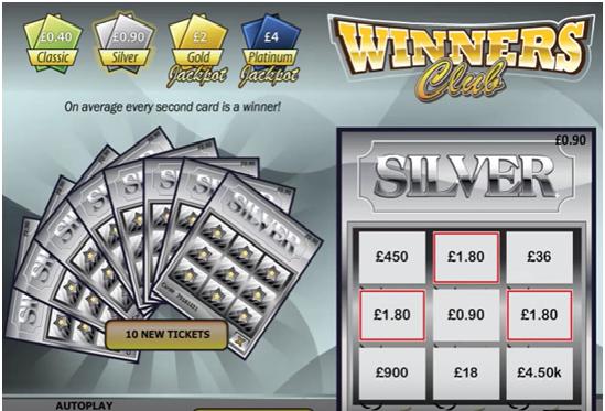 Winners Club Game