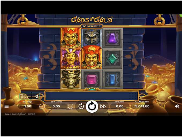 About Gods of Gold Pokies