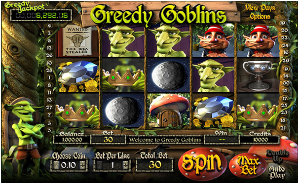Betsoft Jackpot games-Greedy Goblins