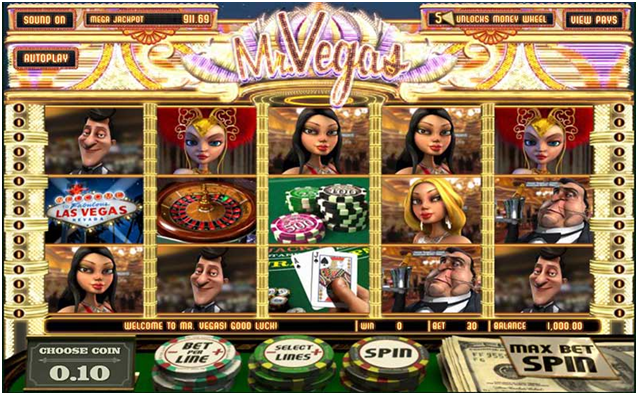 Betsoft pokies- Mr Vegas