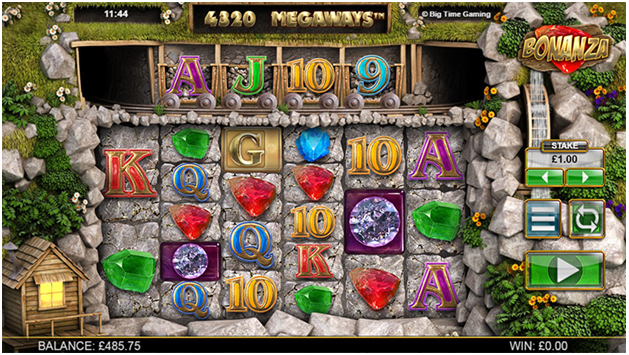 How to play Bonanza pokies online?