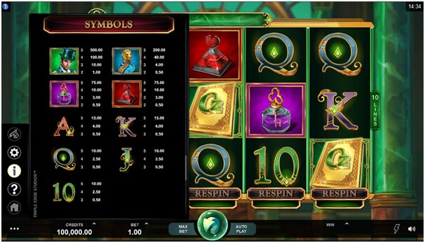 Book of Oz pokies