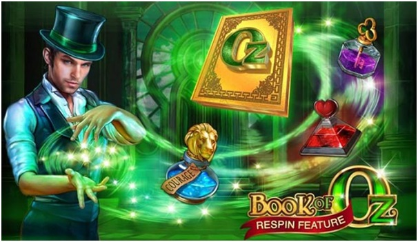 Book of Oz pokies game