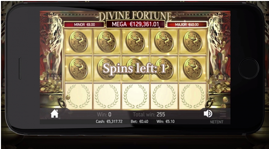 How to play Divine Fortune pokies?