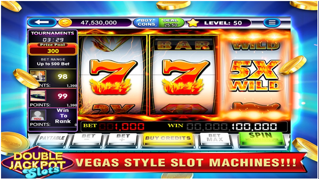 Features  of  Double Jackpot Pokies Game App: