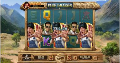 Fire Dragon pokies to win