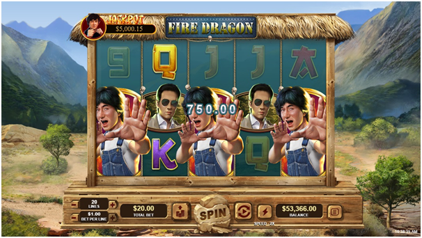 Fire Dragon pokies to win