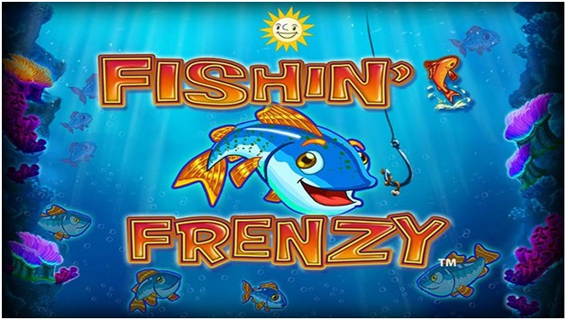 Play Fishin Frenzy pokies and get a top win of x10,000