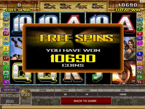 Free spins in pokies