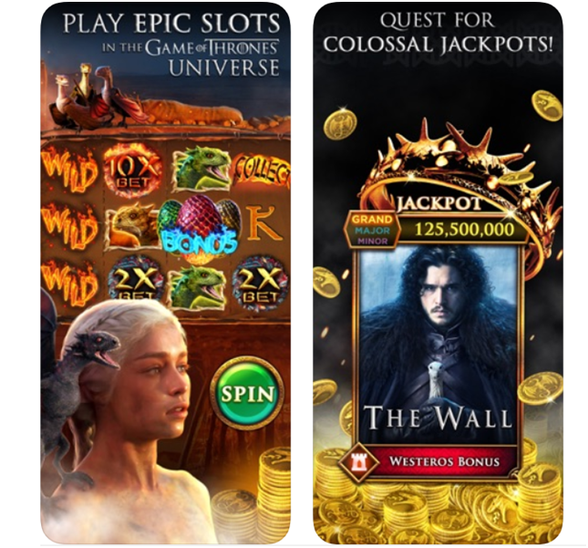 Game of Thrones pokies app now at Zynga to play and win the Progressive Jackpots