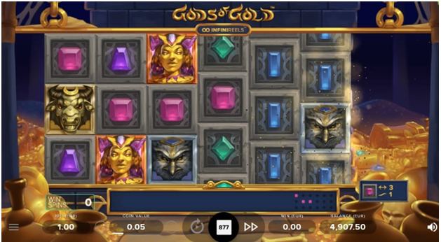 Gods of Gold NetEnt new pokies game to play online