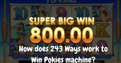 How does 243 Ways work to Win Pokies machine