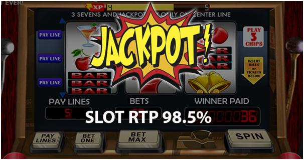 RTP of Jackpot pokies