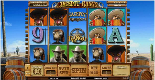 Jackpot Rango Progressive pokies
