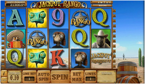 Jackpot Rango Pokies- Symbols