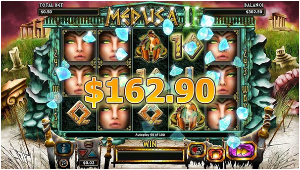 Medusa II slot Jackpot to win
