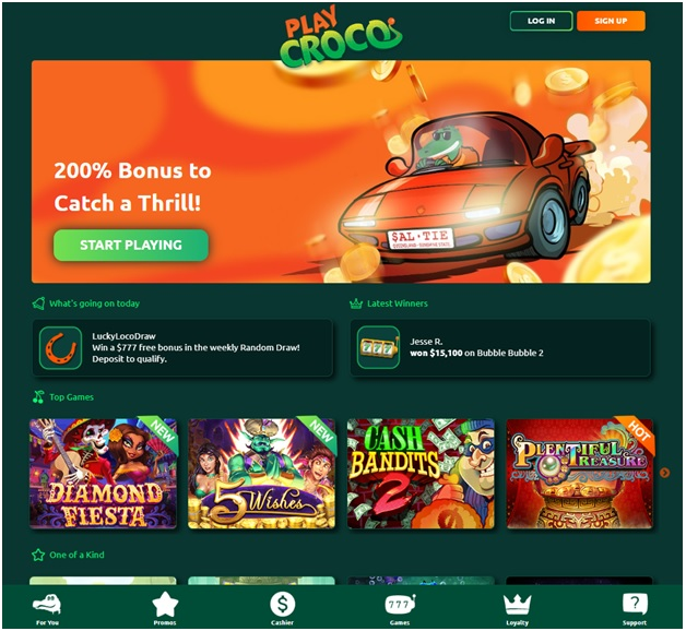 How To Play Jackpot Pokies at Play Croco Casino With Real AUD?