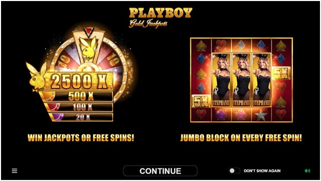 Playboy Gold Jackpots- Free Spins