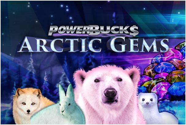 Powerbucks Arctic Gems- Progressive Jackpot