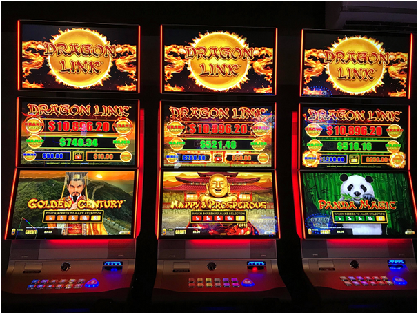 The linked progressive pokies games