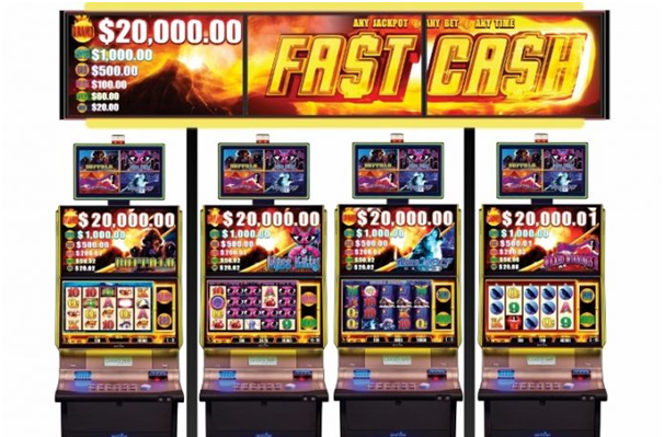 Wide area progressive jackpot pokies games