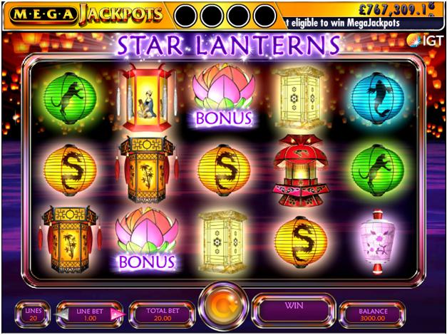 Features of Star Lanterns pokies
