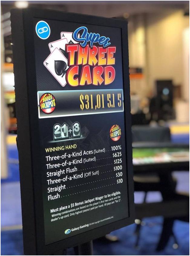 Bonus Jackpot in table games at online casinos