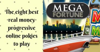 The eight best real money progressive online pokies to play