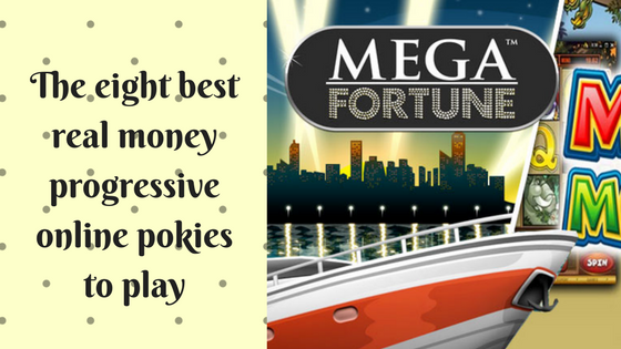 The eight best real money progressive online pokies to play